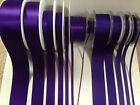 Berisfords LIBERTY 952 & 9490 Purple Cadbury - Satin & Grosgrain Ribbon  3- 70mm