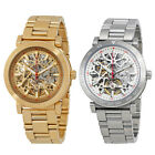 Michael Kors Halo Skeleton Dial Automatic Mens Watch - Choose color