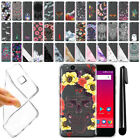 "For ZTE Tempo X N9137 Blade Vantage Z839 5"" Clear Soft Silicone Case Cover + Pen"