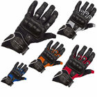 RICHA MAGMA SUMMER VENTED TEXTILE HARD KNUCKLE MOTORBIKE MOTORCYCLE GLOVES
