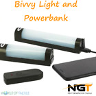 NGT Fishing Bivvy Light + Power Bank Function for Phone Large Pouch