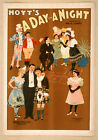 Photo Printed Old Poster: Stage Drama Flyer Theatre Show Hoyts A Day And A Night