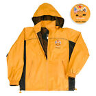 HOME OF THE FREE WIND BREAKER YELLOW AND BLACK Brand New