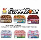 SWEETZONE JELLY TUBS VARIOUS VARIETIES 100% HALAL HMC TREATS PARTY CANDY KIDS
