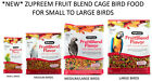 *NEW* ZUPREEM FRUIT BLEND COMPLETE BIRD FOOD DIET AFRICAN GREY PARROT 4 SIZES