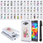 For Samsung Galaxy Grand Prime G530 Crystal Sparkle HYBRID Case Cover + Pen