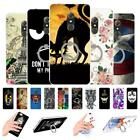 """For Alcatel A7 5090 5090Y 5.5"""" Soft Gel Ring Case Cover Love Girl Blossom Mask"""