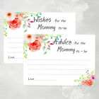 50 Advice Cards for the Mommy to be, Baby Shower Game Cards, Wish Cards