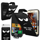 For Samsung Galaxy Core Prime - Printed Clip On PU Leather Flip Case Cover
