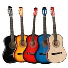 "New 38"" Plywood 6 Strings School Student Acoustic Guitar for Beginner 5 Colors"