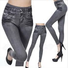 Damen Jeans Stretch Hose Stoffhose Skinny Leggings Leggins Treggings Jeggings