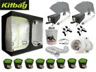 Complete Hydroponic Grow Room Tent Fan Filter 600w Light Kit 120x240x200 2.4
