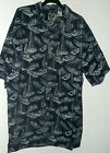 New FISHING BOAT HAWAIIAN SHIRT  BY GEAR   XL or L