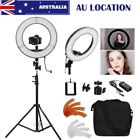 "AU STOCK Dimmable 14""/36cm LED Ring Light and Light Stand 40W 5500K Light Kit"