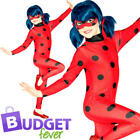 Miraculous Ladybug Kids Fancy Dress World Book Day Superhero Girls Child Costume