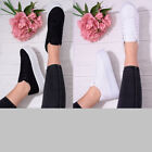 Womens Ladies Flat Trainer Lace Up Casual Flatforms Platform Everyday Shoe Size
