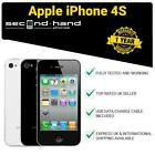 Apple iPhone 4S - 8GB 16GB 32GB 64GB- Black/White - UNLOCKED - 1 Year Warranty