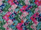 TROPICAL ~ COTTON FABRIC PATCHWORK SQUARES PIECES CHARM PACK 2 4 5 INCH