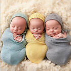 Lovely Baby Infants Crochet Wrapped Yarn Newborn Clothes Photography Decor new
