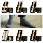Men Solid Color Casual Socks Business Style Breathable Socks 5Pair/Box One Size