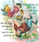 Jack And Jill Nursery Rhyme  Quilt Block Multi Size FrEE ShiPPinG WoRld WiDE