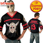 CL888 Friday The 13Th Jason Voorhees Hockey Mens Jersey Mask Halloween Costume
