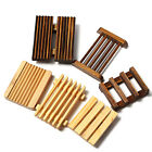 shower soap holders - 2Pcs Natural Wood Bamboo Soap Holder Dish Bathroom Shower Plate Stand Storage US
