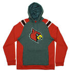 Adidas NCAA Men's Louisville Cardinals Pullover Campus Hoodie Sweatshirt, Grey