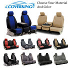 black and yellow dodge challenger - Coverking Custom Front and Rear Seat Covers For Dodge Cars