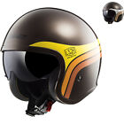 LS2 OF599 Spitfire Sunrise Open Face Motorcycle Helmet Motorbike Bike GhostBikes