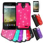 Phone Case For ZTE Overture 3 / ZTE Sonata 3 Dual-Layered Crystal Cover Film