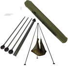 NEW HEAVY DUTY STRONG ALI ADJUSTABLE WEIGH TRI POD FOR CARP / PIKE / CAT FISHING