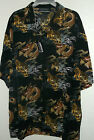 NWT TIGER & DRAGON  HAWAIIAN  SHIRT by YAGO  sz 2x  high quality generous sizing