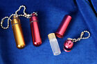 Pocket Vial - Pills-Oils convinient way to carry pills / oil descreetly - Gift