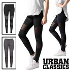Urban Classics Damen Ladies Tech Mesh Sport Leggings Yoga Pants Fitnesshose