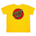 SANTA CRUZ CLASSIC DOT REGULAR S/S T-SHIRT TODDLERS YELLOW