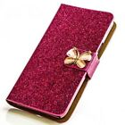 Butterfly Rhinestone Phone Case Protective Sleeve Flip Cover Style Case M212
