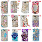 Handmade Glitter Jewelled luxury Crystal Diamonds Soft Phone back Case Cover A25