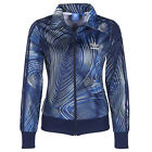 ADIDAS BLUE GEOLOGY FIREBIRD TRACK TOP JACKE BQ1001 DAMEN TRAININGSJACKE BLAU 40