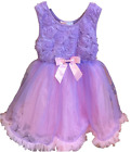 Popatu Girls Sleeveless Special Occasion Dresses with Tutu Skirt Various Colors