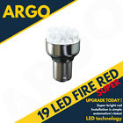 Bright Red 19 Led 380 P21/5w 1157 Car Brake Stop & Tail Rear Bulbs Bay15d 12v