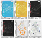 Star Wars THE LAST JEDI series 1 Blueprints cards - You Pick $2.0 USD