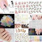 Multi Patterns Acrylic UV Gel Nail Art Sticker DIY Tips Decoration B20E 01