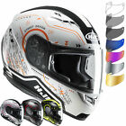 HJC CS-15 Safa Motorcycle Helmet & Visor Dark Smoke Motorbike Full Face Iridium