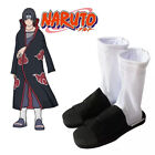 Anime Naruto Akatsuki Uchiha Itachi Ninja Cotton Boots Cosplay Costume Shoes