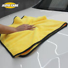Super Soft Absorbent Car Cleaning Drying Cloth Car Wash Microfiber Towel Hemming