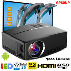 Multimedia 4K WiFi Android Bluetooth 3D LED Home Cinema Projector 7000 Lumens EM