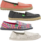 SANUK SIDEWALK SURFER Damen - Briefs Ons Loafers Summer Shoes Canvas Shoes Shoes