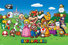 Nintendo Super Mario Bunch of Characters - Poster 91,5x61