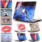 "2in1 Art Image Marble Matte Hard Case Protective Skin  for MacBook Air 13"" A1466"